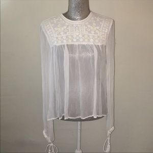 Free People blouse, size small